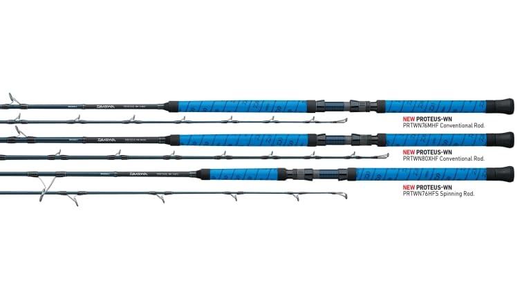 Daiwa Proteus Winn Casting Rod - 76hf