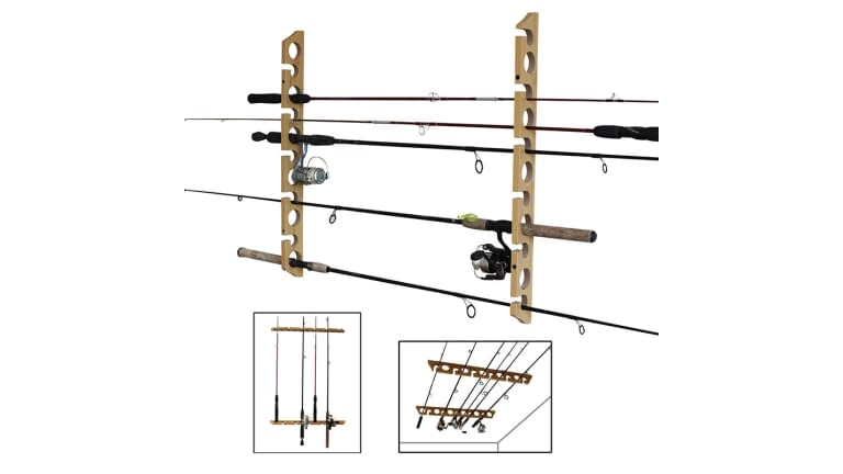 Rush Creek 3-In-1 11 Rod Rack
