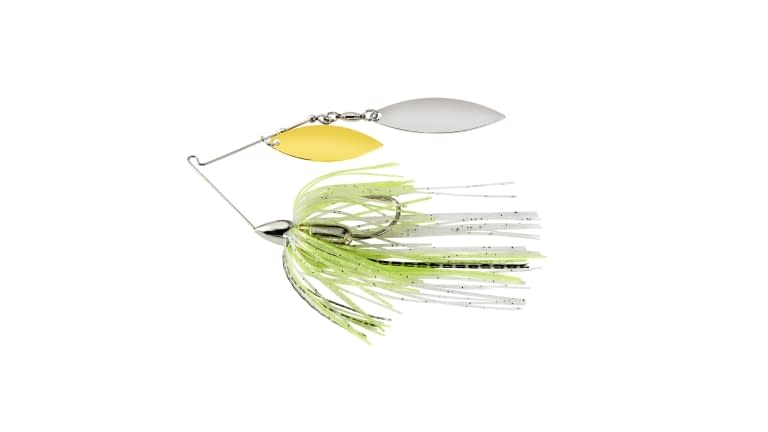 War Eagle Screamin Eagle Nickle Frame Double Willow Spinnerbait - WE12SENW09
